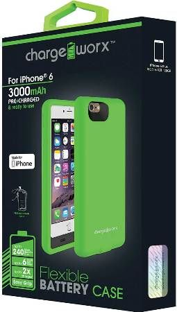 release date: ffdd2 efcee Chargeworx CX7003GN Flexible Battery Case, Green, For use with ...
