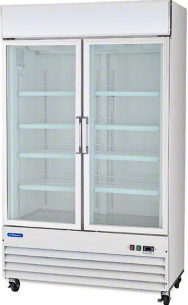 Metalfrio D768bm2f Glass Door Display Freezer 28 Width 8