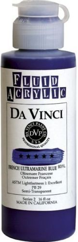 Alvin DAV900AD FLUID ACRYLIC DISPLAY/96 4oz, EA, UPC 088354800675, 48 lbs, 6 x 48 x 8 in, Country of Origin US (ALVINDAV900AD)