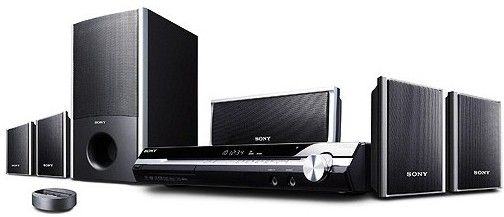 sony home theater setup. sony dav-hdz273 bravia 5.1 channel dvd home theater system, 1080p upconversion via hdmi, 850 total watts (140 per channel), dolby pro logic and setup m