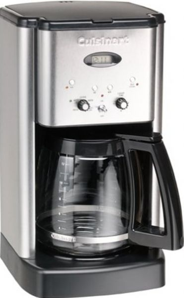 Cuisinart Coffee Maker Red Clean Light : Cuisinart DCC-1200BCH Brew Central Programmable Coffeemaker, Classic stainless design ...