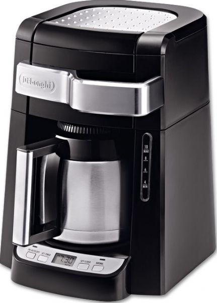Drip Coffee Maker With Timer : DeLonghi DCF2210TTC Coffee Maker, 10 Cup Capacity, Automatic drip, Double walled thermal carafe ...