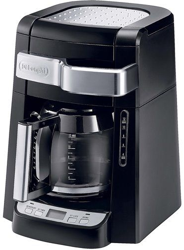 Drip Coffee Maker With Timer : DeLonghi DCF2212T Drip Coffee Maker, 12-cup capacity, 970W Power, Aroma Button, 24-hour ...