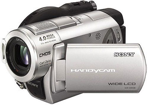 Sony Dcr Dvd808e Dvd Handycam Pal Camcorder 1 3 Quot Clearvid