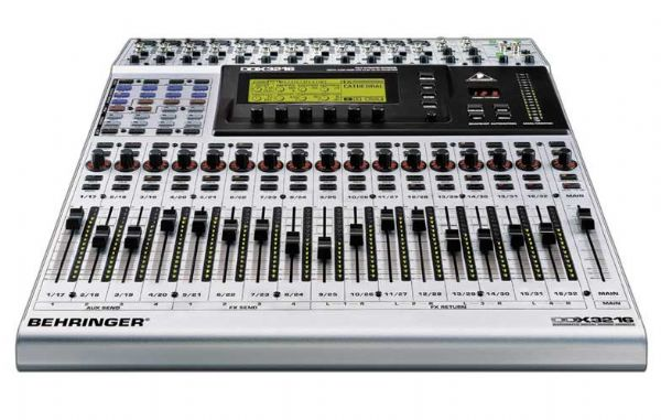 behringer ddx3216 fully automated 32 channel 16 bus 24 bit digital mixing console ddx 3216 ddx. Black Bedroom Furniture Sets. Home Design Ideas
