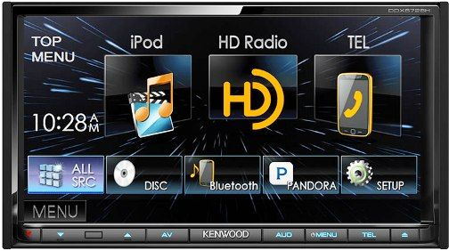 Kenwood Instrument Panel Labeled : Kenwood ddx bh in dash din monitor receiver with