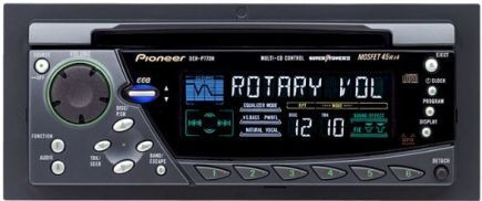 pioneer deh p77dh cd receiver, gm chrysler fit cd player, supertuner