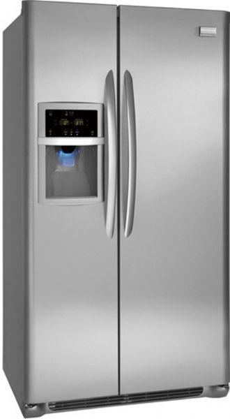 Frigidaire gallery Side By Side Refrigerator Spill Safe sliding shelf
