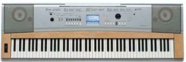 Yamaha dgx620 electronic keyboard with 88 full size keys with graded hammer action graded for Yamaha fully weighted keyboard