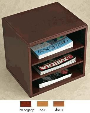 Axcess Dh625 Woodworx Optional Shelves For Cube Desktop Organizer Durable Mdf With Wood Veneer Dh 625