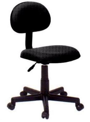 Innovex C0886F29 model 886 Ergonomic Fabric Student Chair, Black, Ergonomic Student chair, Height Adjustable, Gas Lift, Black fabric (DL886 DL 886 LedaDesk Leda Desk DL-886 DL886 DL886F29)
