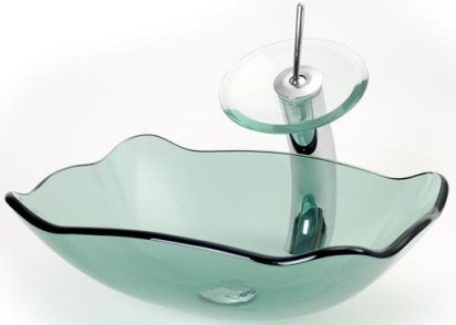 glass sinks. Sink, Tempered Glass