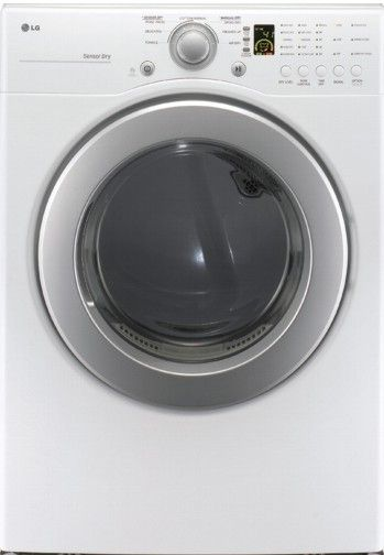 LG DLG2241W Ultra-Large Capacity Front Load Gas Dryer, White