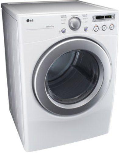 Lg Sensor Dryer ~ Lg dlg w extra large capacity gas dryer with sensor dry
