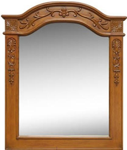 Dreamline DLMBJ-01AO Portrait Mirror, Solid wood frame ...