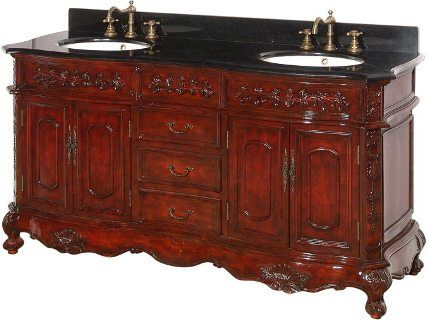 dreamline dlvbj 002ac antique bathroom vanity includes sinks cabinet