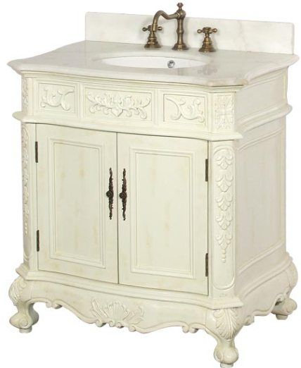 011aw antique bathroom vanity solid antique white birch wood cabinet