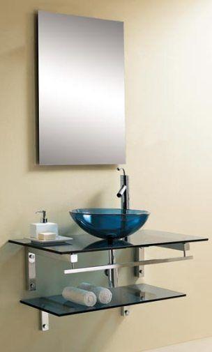 Dreamline Dlvg 1002 Bu Modern Bathroom Glass Vanity Cabinet Blue 1 - Contemporary-bathroom-vanities-from-dreamline