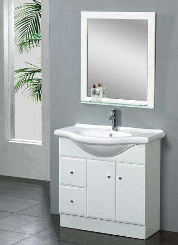 Dreamline DLVRB 116 WH EuroDesign Bathroom Vanity White Vanity Cabinet Made