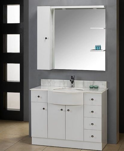 dlvrb 313 wh eurodesign bathroom vanity cabinet white 3 4 off white