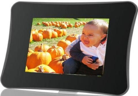 Coby Dp710 1g Widescreen Digital Photo Frame With Mp3 Player 7 Inch