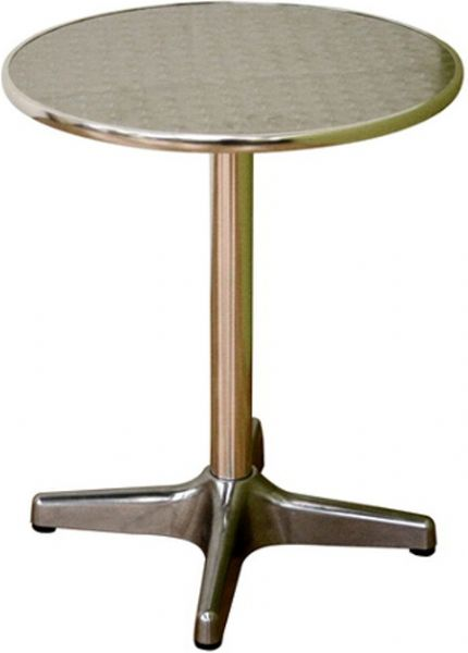 Wholesale Interiors DR71358 Eustace Round Bistro Table Smooth