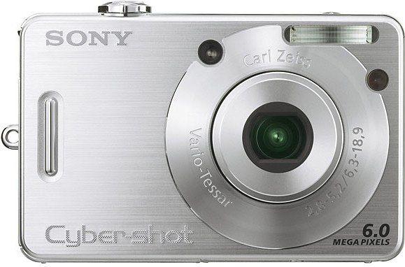 Sony DSC-W50 Cyber-shot Digital Camera, 6.0 Megapixel Super HAD CCD ...