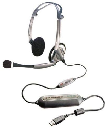 plantronics dsp 400 foldable pc headset cable stereo the 5 channel 16 bit 48khz
