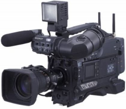 Sony DSR-400L DVCAM Camcorder, NTSC Signal System, 3-CCD, 2/3-Inch, Power HAD EX Interline Transfer Type Image Device, 65 dB Signal-to-Noise Ratio, 920 Lines Horizontal Resolution, f/11 at 2000 Lux Sensitivity, 0.5 Lux with f/1.4 plus Gain Up Minimum Illumination, -140 dB Vertical Smear, 2.5-Inch TFT Color LCD Monitor, DXF-801 1.5-Inch Black and White Viewfinder (DSR 400L DSR400L DSR-400 DSR400 DSR 400)