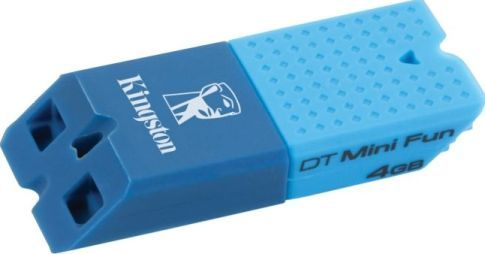 Kingston DTMFG2/4GBZ DataTraveler Mini Fun G2 USB flash drive, 4 GB Storage Capacity, Hi-Speed USB Interface Type, USB 2.0 Interface Specification Compliance, 1 x Hi-Speed USB - 4 pin USB Type A Interfaces, 32 �F Min Operating Temperature, 140 �F �ax Operating Temperature, Microsoft Windows Vista / XP / 7, Apple MacOS X 10.5.x or later, Linux 2.6 or later OS Required (DTMFG24GBZ DTMFG2-4GBZ DTMFG2 4GBZ)