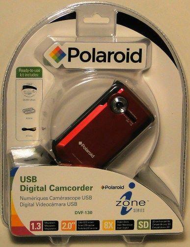 polaroid digital camcorder dvf 130 manual