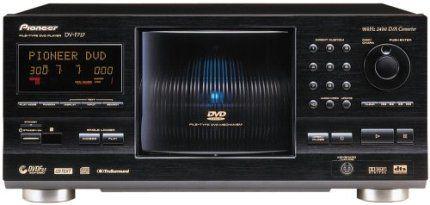 Pioneer Dv F727 Dvd Changer Dvd Cd Video Cd Media Type