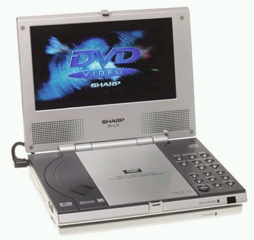 Sharp� DVL70  Portable DVD Player, DVD/Video CD/CD Player (DV-L70, DV L70, DVL7)