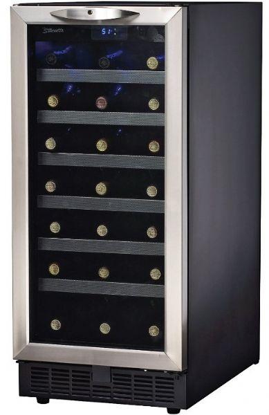 Danby DWC518BLS Silhouette Series Built-in Dual Zone Wine Cellar