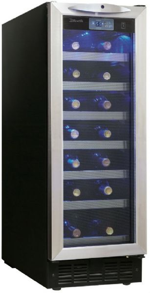 Danby Dwc276bls Silhouette Series Wine Cooler With 27