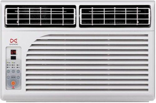 Daewoo DWCF0620RL Window AC Air Conditioner, 6000 BTU Cooling Power