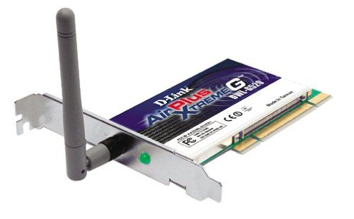 D-Link AirPlus G DWL-G520 A Wireless PCI Adapter Driver