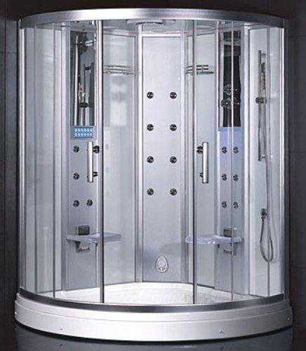 Ariel Platinum DZ938F3 Steam Shower, Steam Function, 20 Body Massage Jets,  ETL Approved, Overhead Rainfall Shower Head, Multifunction Handheld  Showerhead, ...