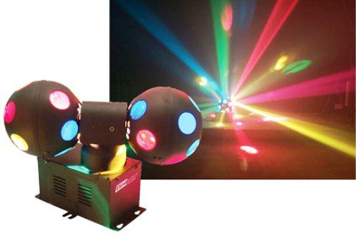 eliminator lighting e 111 cosmo balls special effect series lighting multiple colored lenses. Black Bedroom Furniture Sets. Home Design Ideas