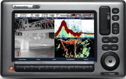 raymarine e62220 rw widescreen e90w 9 multifunction display rh salestores com Raymarine E90W Package E9 Raymarine Hybrid Touch