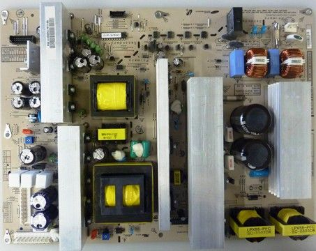 LG EAY41360901 Refurbished Power Supply Unit for use with LG Electronics 50PG20, 50PG20C, 50PG20-UA, 50PG20UAAUSLLJR, 50PG20UAAUSRLHR, 50PG20UAAUSRLJR, 50PG20UAAUSVLHR, 50PG20UAAUSVLJR, 50PG25 and 50PG60UAAUSALJR LCD TVs (EAY-41360901 EAY 41360901)