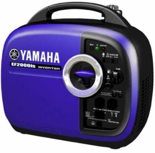 yamaha ef2000is. yamaha ef2000is inverter generator, very quiet 51~61 decibels, 2000 watt maximum output, 1600 rated continuous engine displacement 79cc, ef2000is