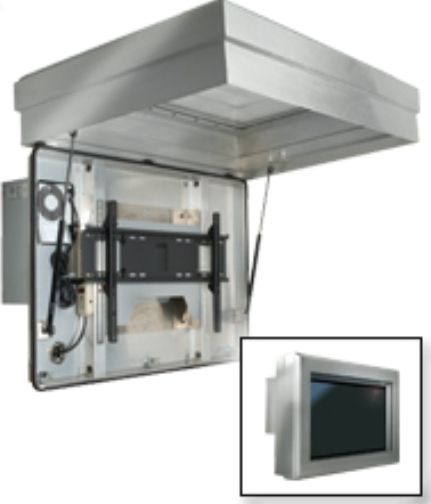 outdoor tv enclosures cases pictures to pin on pinterest pinsdaddy
