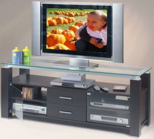 Elite Industries El 906 Wenge Credenza 65 Tv Stand And Audio Rack