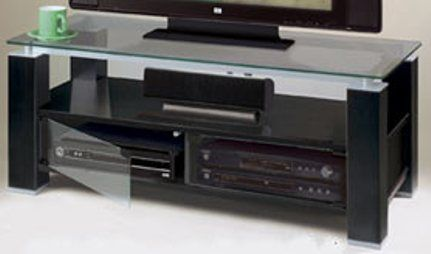 TV Stand and A/V Combination Unit, Designed for up to 42'' Flat Panel