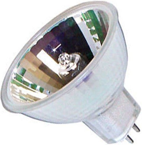Eiko ELH/5 model 02460 Projector Light Bulb, 120 Volts, 300 Watts, CC-8 Filament, 1.75/44.5 MOL in/mm, 2.00/50.8 MOD in/mm, 70 Average Life, MR16 Bulb, GY5.3 Base, Dichroic Reflector, Life is 35 hrs at 125V Special Description, 300 Watts Amps, 3350 Color Temperature degrees of Kelvin, Slide Use, UPC 031293024602 (02460 ELH5 ELH-5 ELH 5 EIKO02460 EIKO-02460 EIKO 02460)