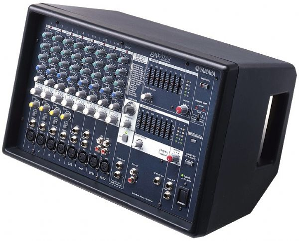 Yamaha emx512sc powered mixer 500 watt amplifiers spx for Yamaha power amp mixer