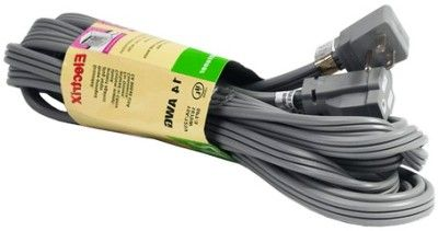 ENS EC1420AUL 20-Foot Air Conditioner Cord/Appliance Extension Cord (Flat Cable); Use with Air Conditioners, Power Tools & Appliances; 3 Conductor Heavy Duty Flat Vinyl AC Cord; Right Angle Male Plug Made of PVC; 14 Gauge/3 Conductor SPT-3 Wire Type; 125 Volt - Max Current Rating 15 Amp (ENSEC1420AUL EC-1420AUL EC1420-AUL EC 1420AUL EC1420 AUL)