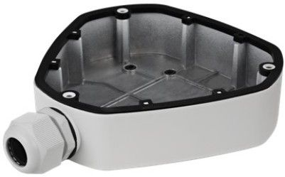 H SERIES ES1280ZJ-DM25 Junction Box, White For use with ESNCA03-FEA, ESNCA06-FEA and ESNCA12-FEA WDR Fisheye Network Cameras; Aluminum Alloy Material with Surface Spray Treatment; Cable Hole on Bracket Makes the Feature Better; Waterproof Design; Dimension�178.5x164x41mm; Weight 340g (ENSES1280ZJDM25 ES1280ZJDM25 ES1280ZJ DM25 ES-1280ZJ-DM25)