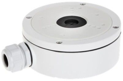H SERIES ES1280ZJ-S Junction Box, White For use with ESNC214-XD, ESAC318-FD4, ESAC324F-FD4M, ESAC324F-VB4, ESAC318D-VB4Z, ESAC326D-VB4Z and ESAC344D-VB4Z Dome Cameras; Aluminum Alloy Material with Surface Spray Treatment; Waterproof Design; Dimension�137x53.4x164.8mm; Weight 527g (ENSES1280ZJS ES1280ZJS ES-1280ZJ-S ES1280ZJ S)